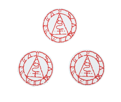 Silent Hill Seal of Metatron Coaster Set of 3 Loot Gaming Exclusive