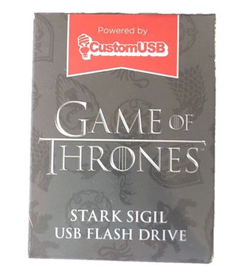 Game of Thrones Stark Sigil USB Flash Drive HBO LootCrate Exclusive 4GB