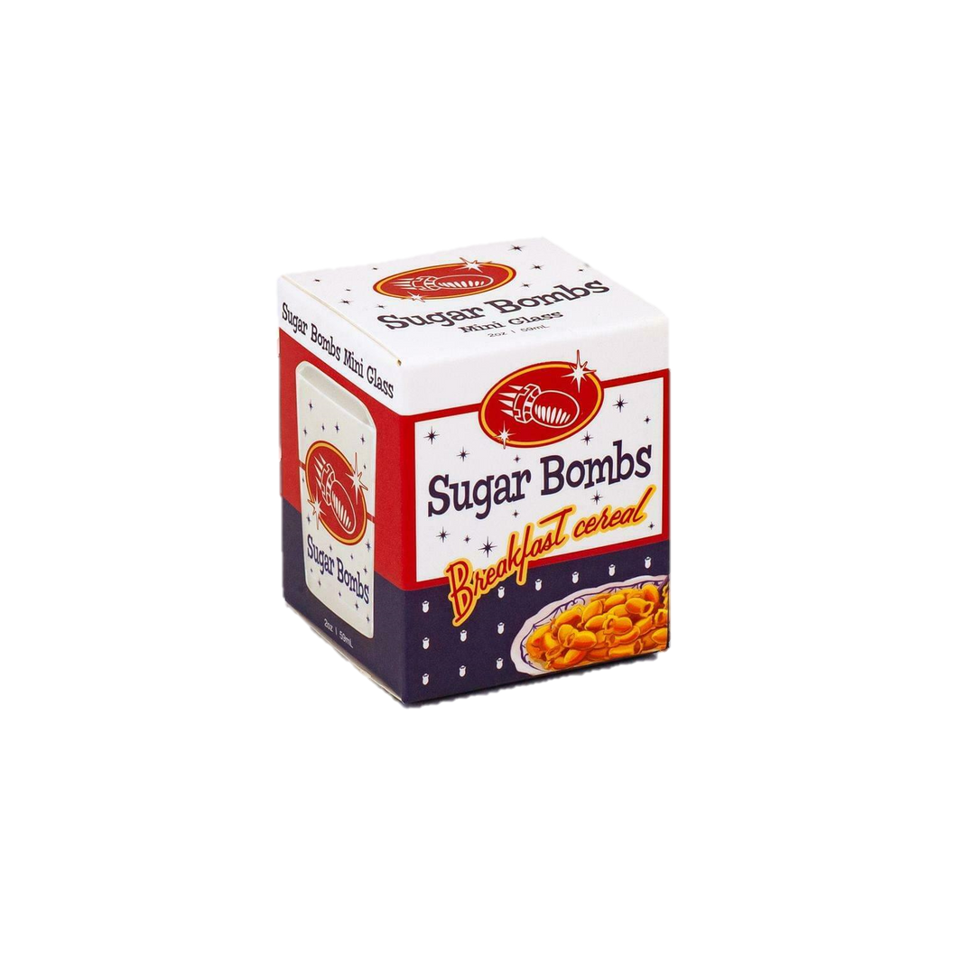 Fallout Sugar Bombs Breakfast Cereal Square 2 oz Shot Glass - Kal-Electibles