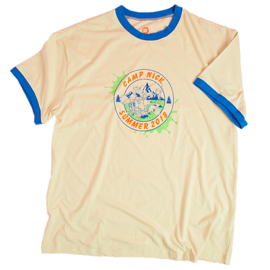 Camp Nick Summer 2018 Graphic Ringer Exclusive T Shirt