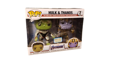 Funko POP! Avengers Endgame - Hulk & Thanos 2pk [B&N Exclusive]