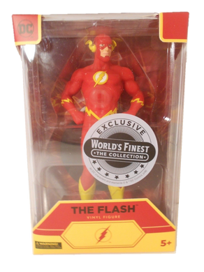 DC Comics World's Finest Collection Exclusive The Flash Vinyl Statue