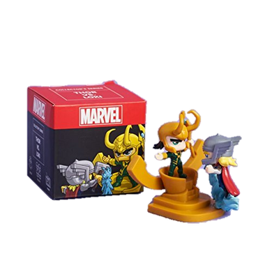 Loot Crate Collector Series PhatMojo Mini Buildable Figures Thor vs Loki