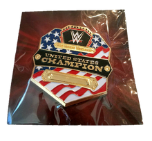Load image into Gallery viewer, WWE Slam Crate United States Champion Wrestling Pin