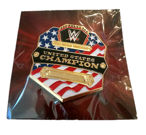 WWE Slam Crate United States Champion Wrestling Pin