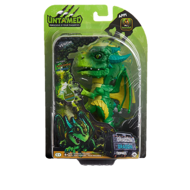 WowWee Fingerlings Untamed Dragon – Venom - Kal-Electibles