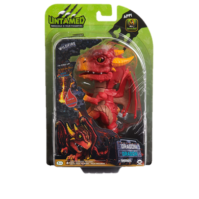 WowWee Fingerlings Untamed Dragon – Wildfire