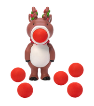 Load image into Gallery viewer, HogWild Holiday Reindeer Ball Popper - Kal-Electibles