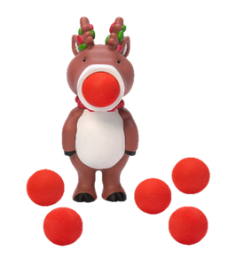 HogWild Holiday Reindeer Ball Popper - Kal-Electibles
