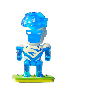 Scribblenauts Unmasked Blue Superman Mystery Figure 3/24