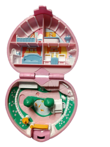 Vintage 1989 Polly Pocket Bluebird Country Cottage