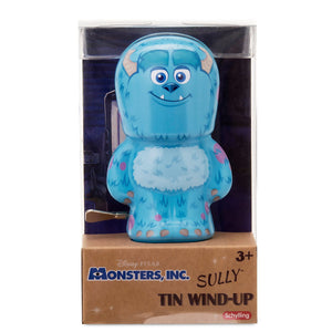 Disney Pixar Monsters Inc. Sully Bebot Tin Wind Up Action Figure