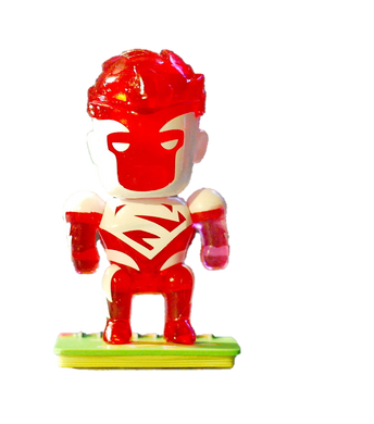Scribblenauts Unmasked Red Superman Mystery Figure 3/24