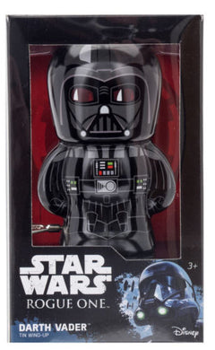 Schylling Star Wars Rogue One Darth Vader Bebot Tin Wind Up Action Figure