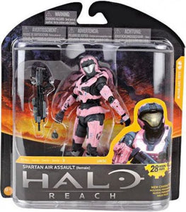 McFarlane Toys Halo Reach Series 3 Spartan Air Assault (Female) Action Figure