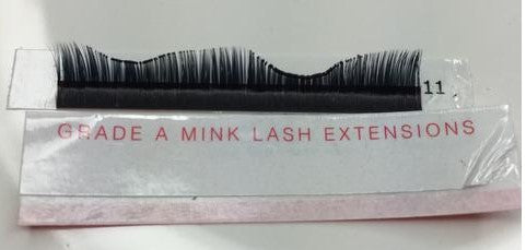 Grade A Mink Lash Extensions are actually not made with Mink.  In fact, nobody really uses animal hair for lash extensions.  Almost all lashes are now vegan, made from PBT.