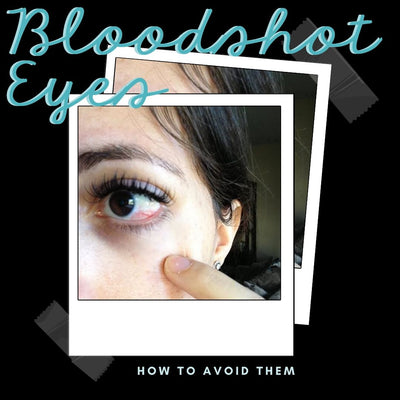 Red and Blood Shot Eyes: What causes it and what can you do it prevent them?
