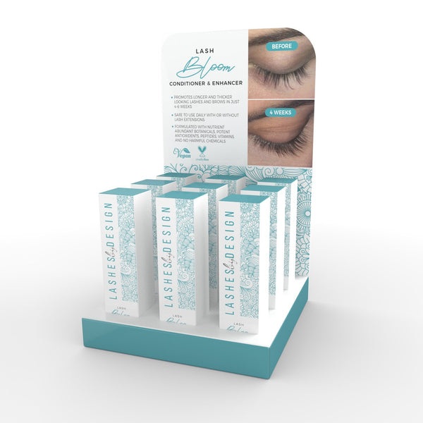 FREE Lash Bloom Retail Displays Are IN STOCK!