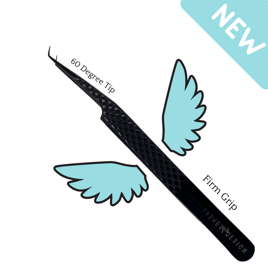 Mini Angel Flat 60 Degree Tweezer