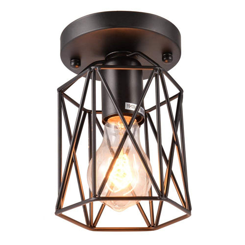 Uarter Retro Vintage Flush Mount Ceiling Light