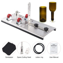 Load image into Gallery viewer, Uarter DIY Glass Bottle Cutter Kit Stainless Steel Bottles Cutting Tool