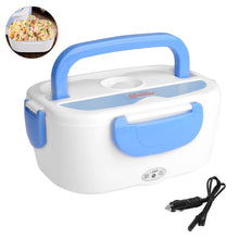 Load image into Gallery viewer, Uarter 12V Car Use Heating Lunch Box Electric Multi-functional Food Warmer Rechargeable Meal Heater