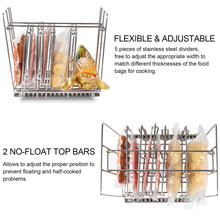 Load image into Gallery viewer, Uarter-Stainless-Steel-Sous-Vide-Rack