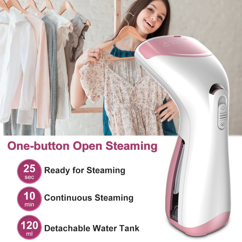Clothes Garment Fabric Steamer Wrinkle Remove Home Travel Portable Mini Handheld