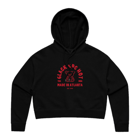 MADE IN ATLANTA BLACK CROPPED HOODIE + DIGITAL EP