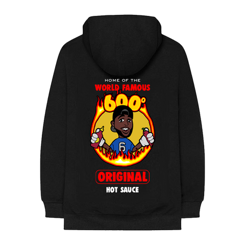 6PC HOT BLACK HOODIE + DIGITAL EP