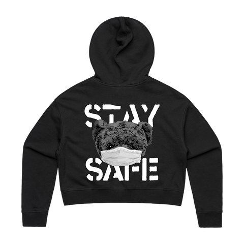 STAY SAFE CROPPED HOODIE + DIGITAL EP