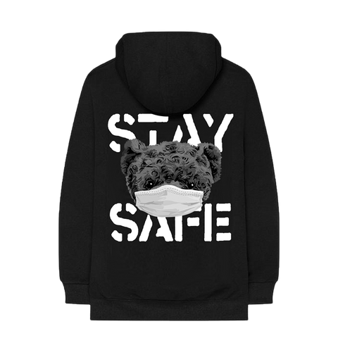 STAY SAFE BLACK HOODIE + DIGITAL EP