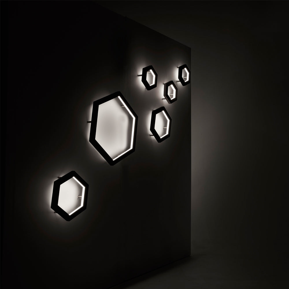 The Hexagon Sconce