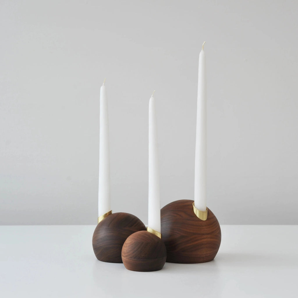 The Pebble Candle Holder
