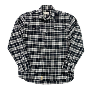 Heavy Knit Checkered Flannel (Size XL)