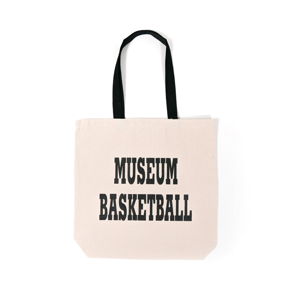 Museum Basketball Tote Bag