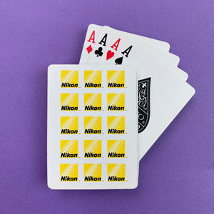 Nikon Playing Cards