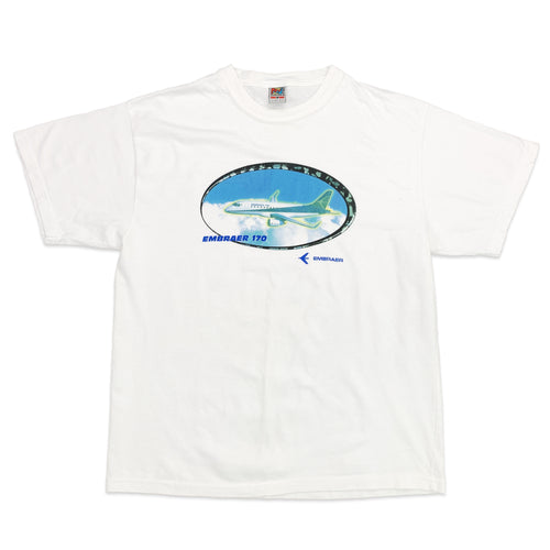 Y2K Embraer Air Jet Tee (Size M)