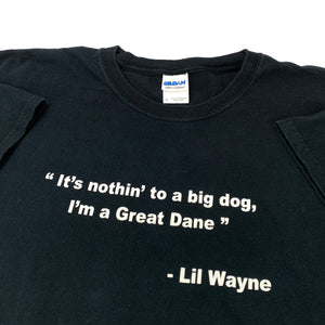 Lil Wayne Quote Tee (Size XL)