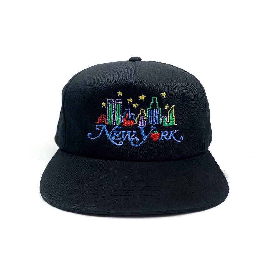New York Skyline Hat (Black)