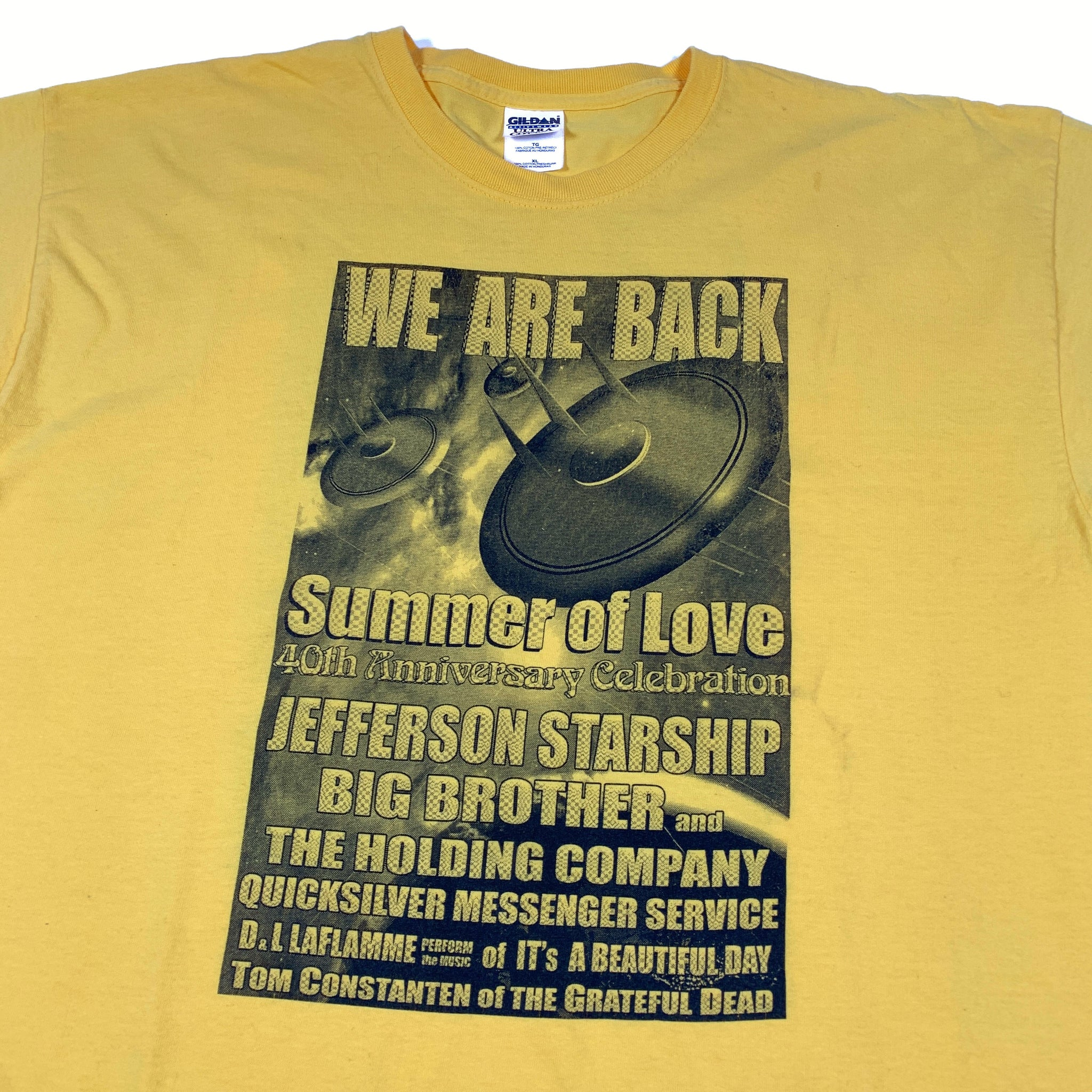 Summer of Love/Jefferson Starship Tee (XL)