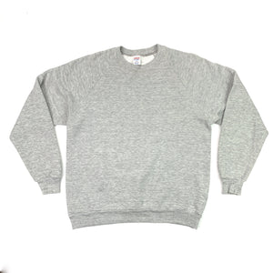 The Perfect 90's Grey Crew (Size L)