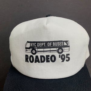 '95 NYC Department of Buses Rodeo Snapback Hat