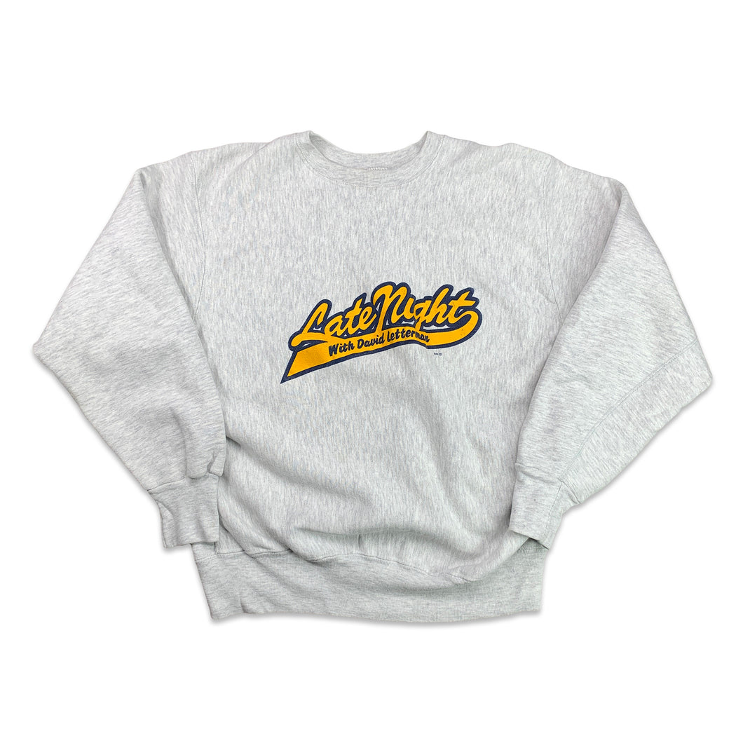 Late Night Letterman Crewneck