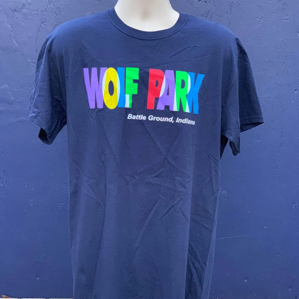 Children's Shirt: Wolf Park in Color