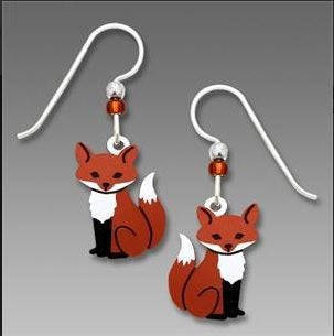 Fox Earrings