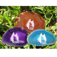 Wolf Park Agate Slices and Magnets