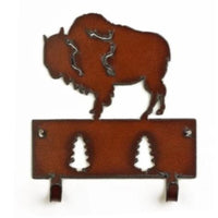 Iron Bison Wall Hooks