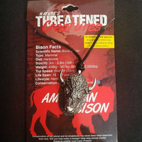 Bison Head Necklace