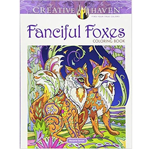 Fanciful Foxes Coloring Book